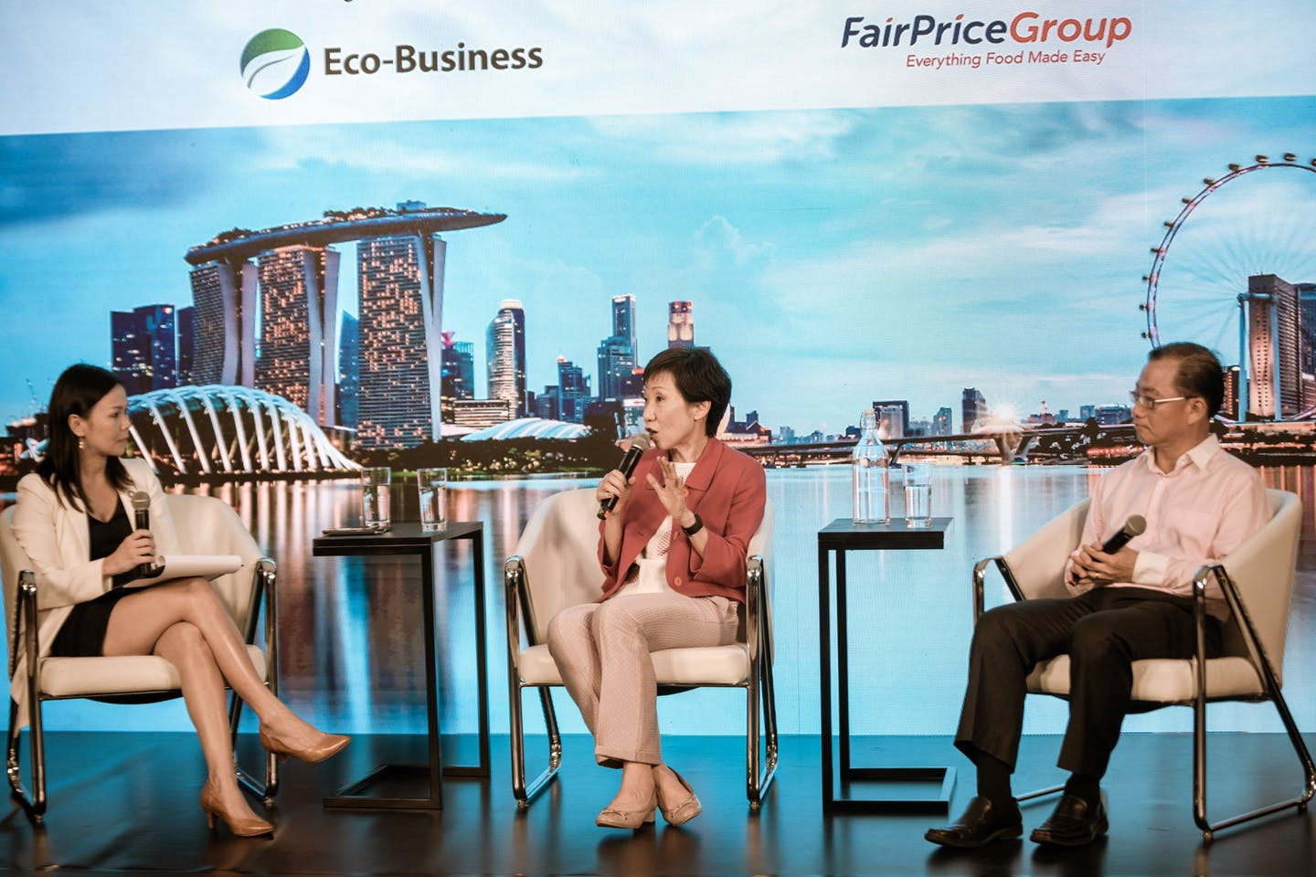 Environment and sustainability minister Grace Fu
