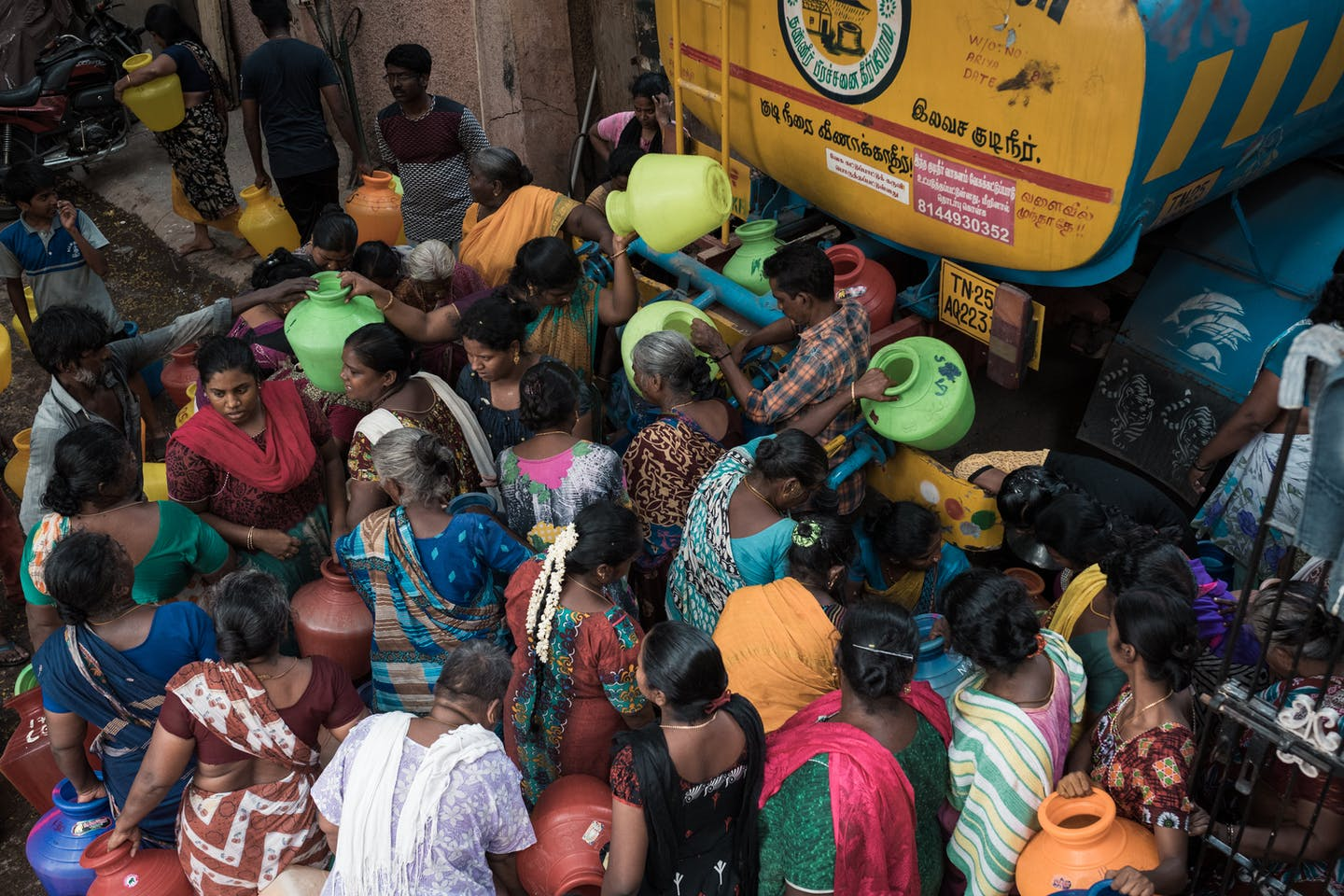 Chennai residents, water crisis, MS Nagar