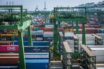 Singapore's Pasir Panjang Port Terminal. Image: Tim Ha, Eco-Business