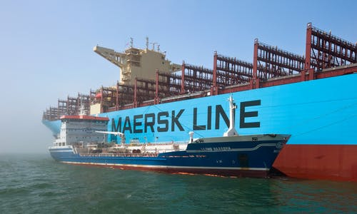 Shipping industry willing to pay for premium on 'green fuels'—Maersk chief