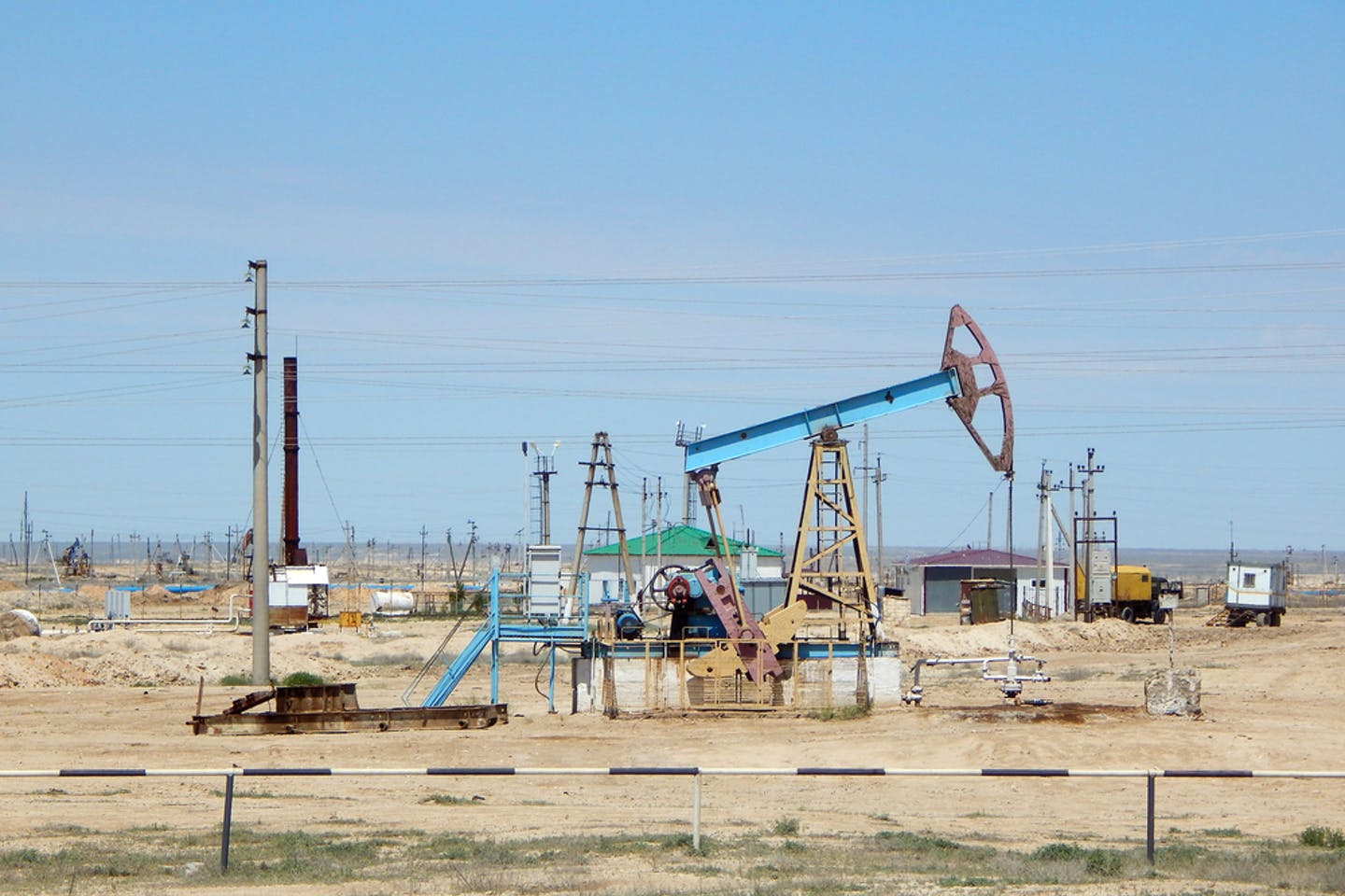 Kazakhstan oil field