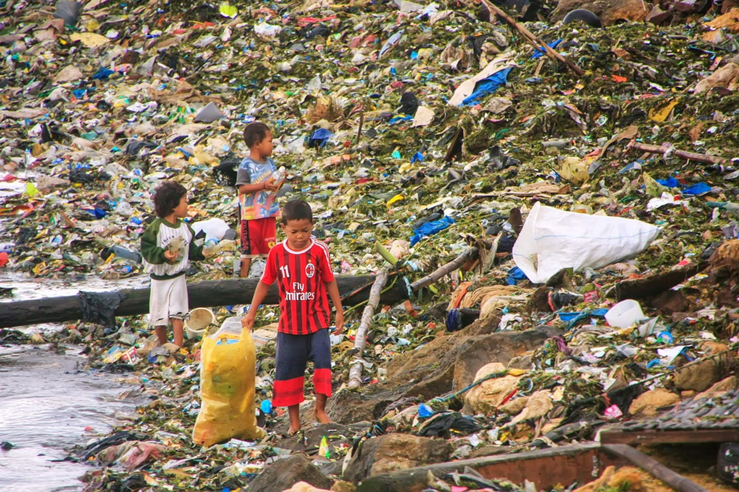 indonesia waste