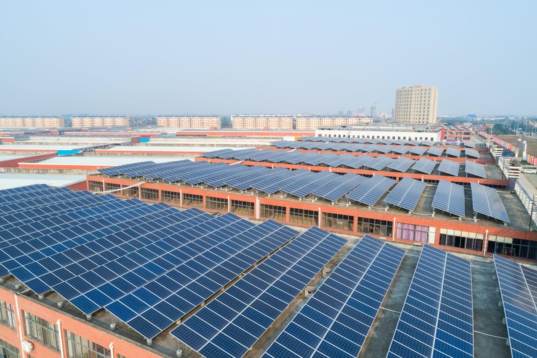 Solar panels HuangzhouDistrict