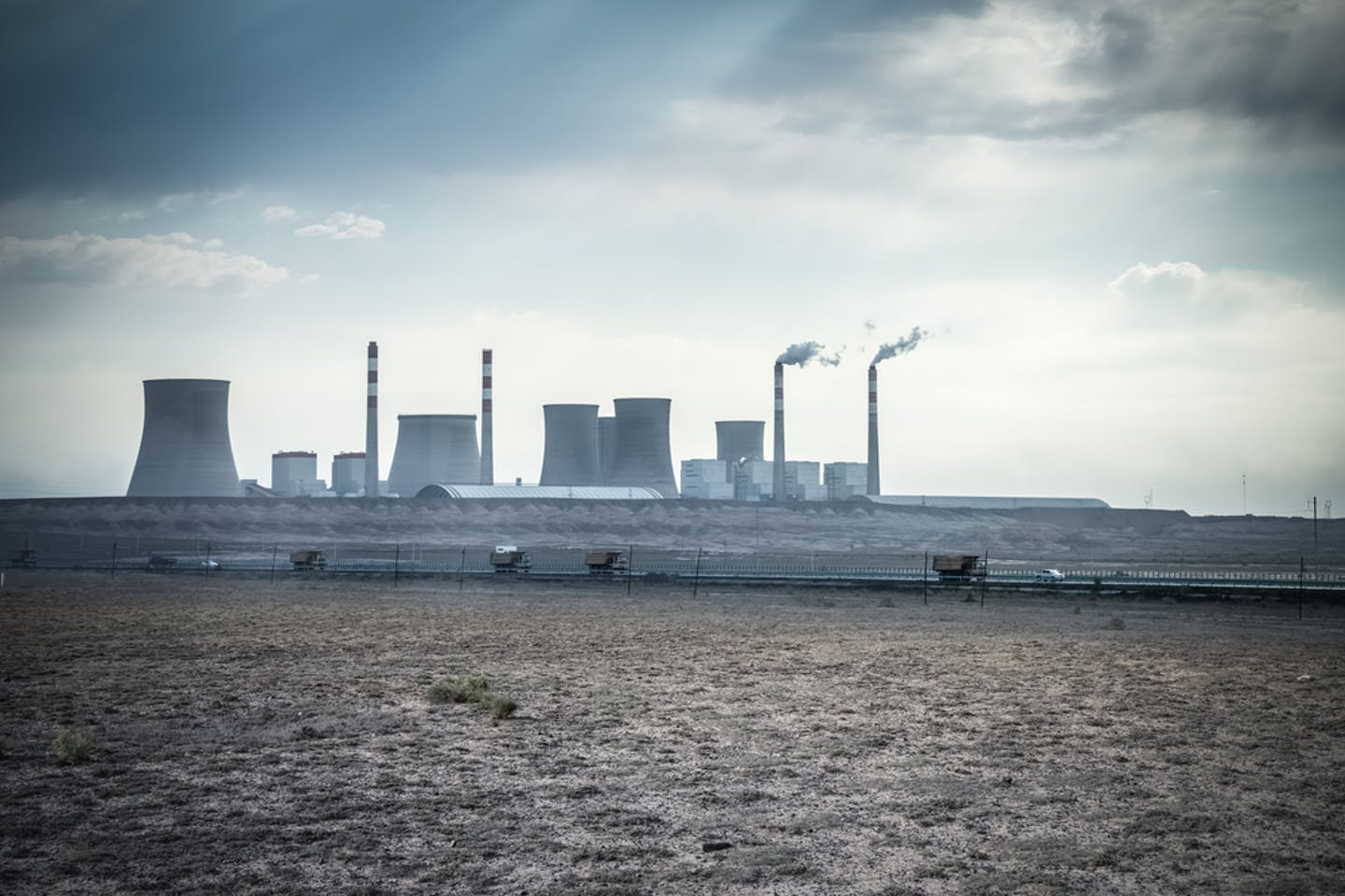 Thermal power station in Xinjiang, China