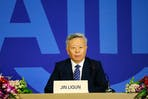 Jin Liqun, president of the Asian Infrastructure Investment Bank (AIIB)