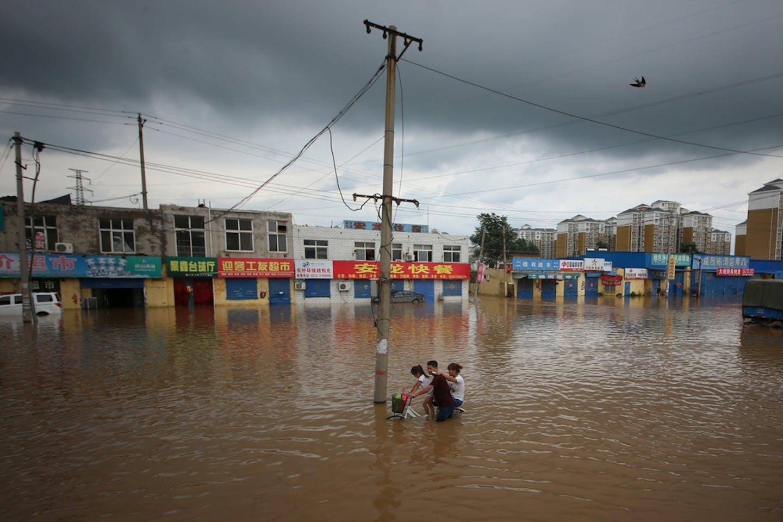 Henan China flood