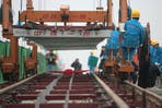 rail construction china