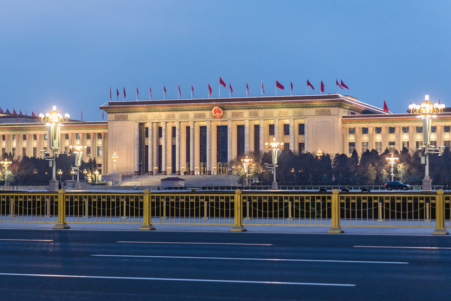Beijing's Hall of the People