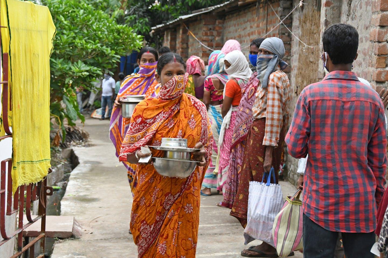 West Bengal India poor