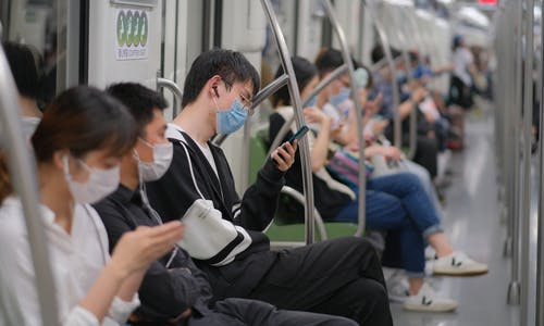 How is the pandemic reshaping urban transport in China?