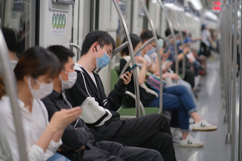 Passengers Covid China