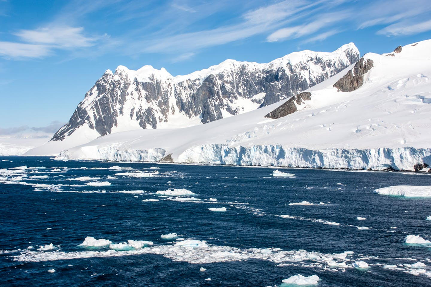Summer heat in Antartica