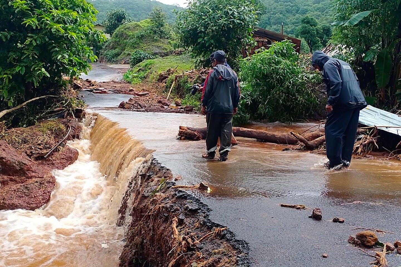 Maharashtra floods in India