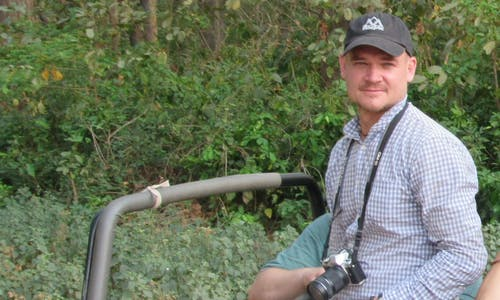 24 hours with... WWF tiger conservationist Dr Ashley Brooks