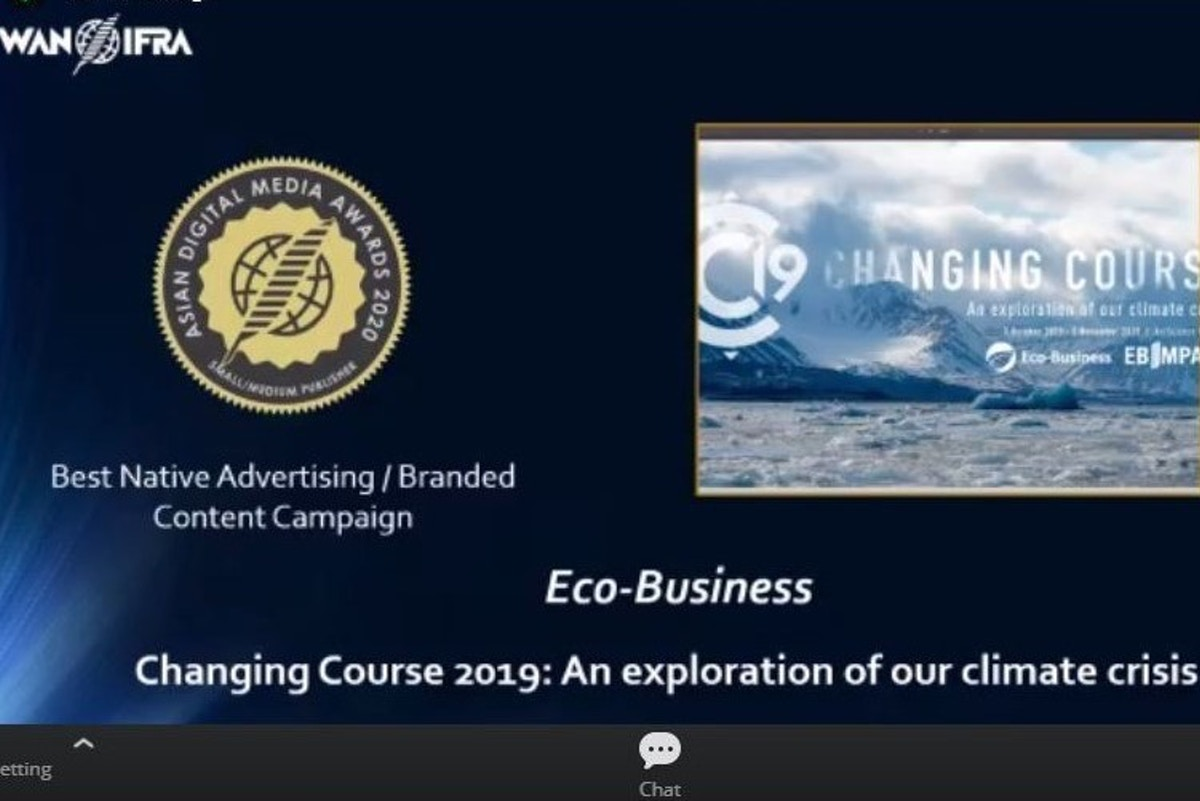 Eco-Business bags two prizes at WAN-IFRA Asian Digital Media Awards 2020