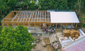 Schools made from recycled plastic to open in earthquake-hit Lombok