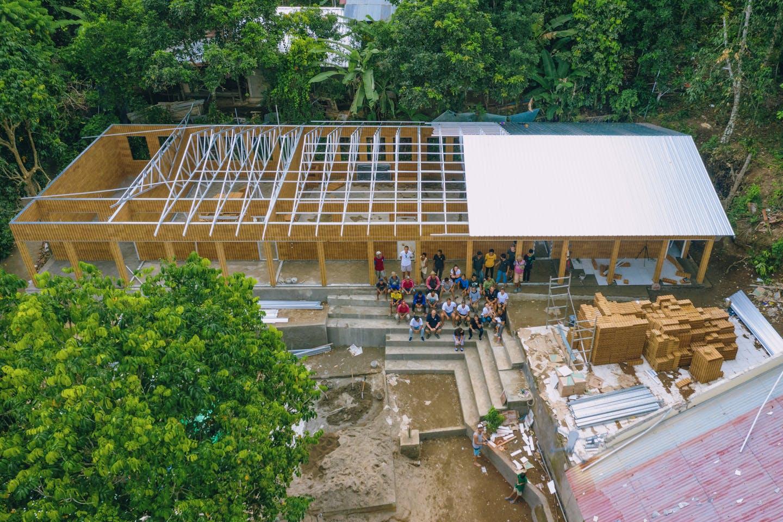 Eco Block school in Indonesia