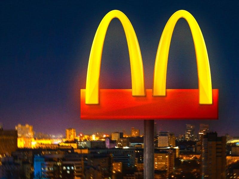 McDonald's coronavirus logo stunt