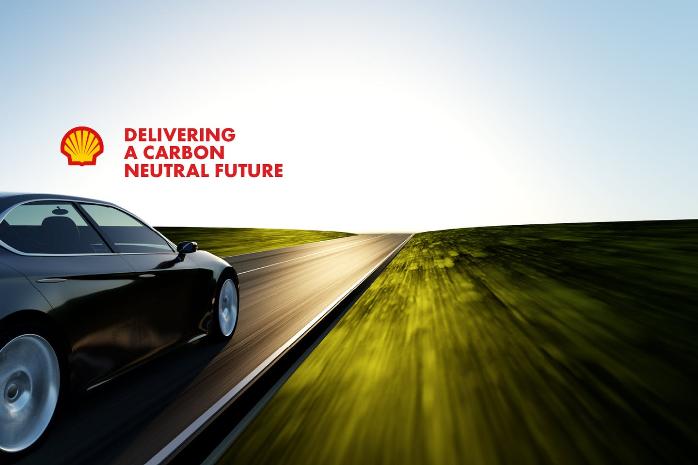 """Shell claims to be delivering a """"carbon neutral"""" future in this advertising campaign."""