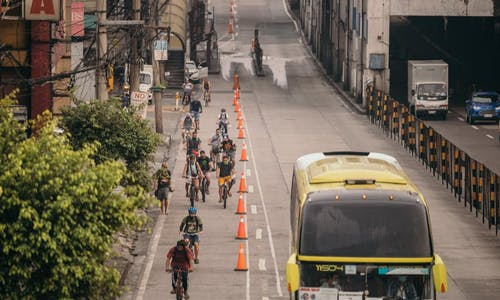 Mobility advocates call for better cycling infrastructure, fairer compensation for jeepney drivers in the Philippines