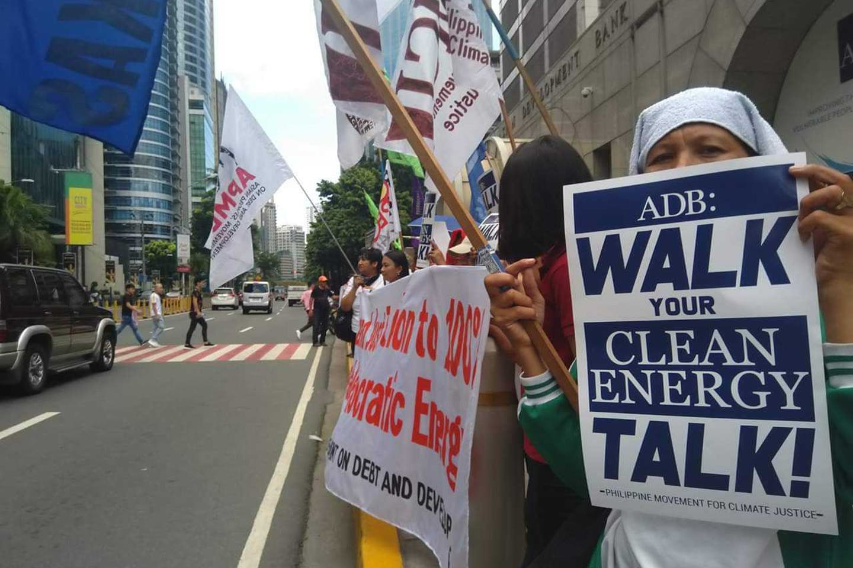ADB protesters