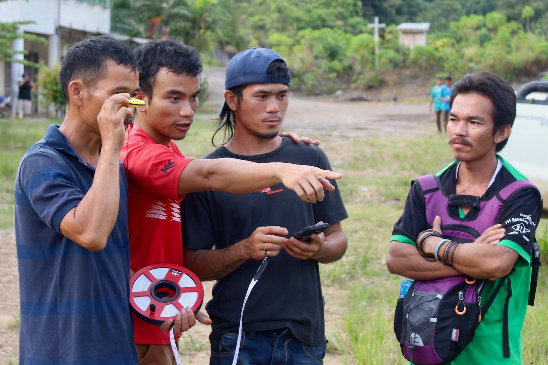 borneo project field technicians