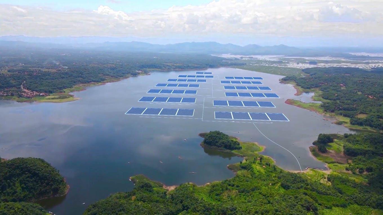 Cirata floating solar