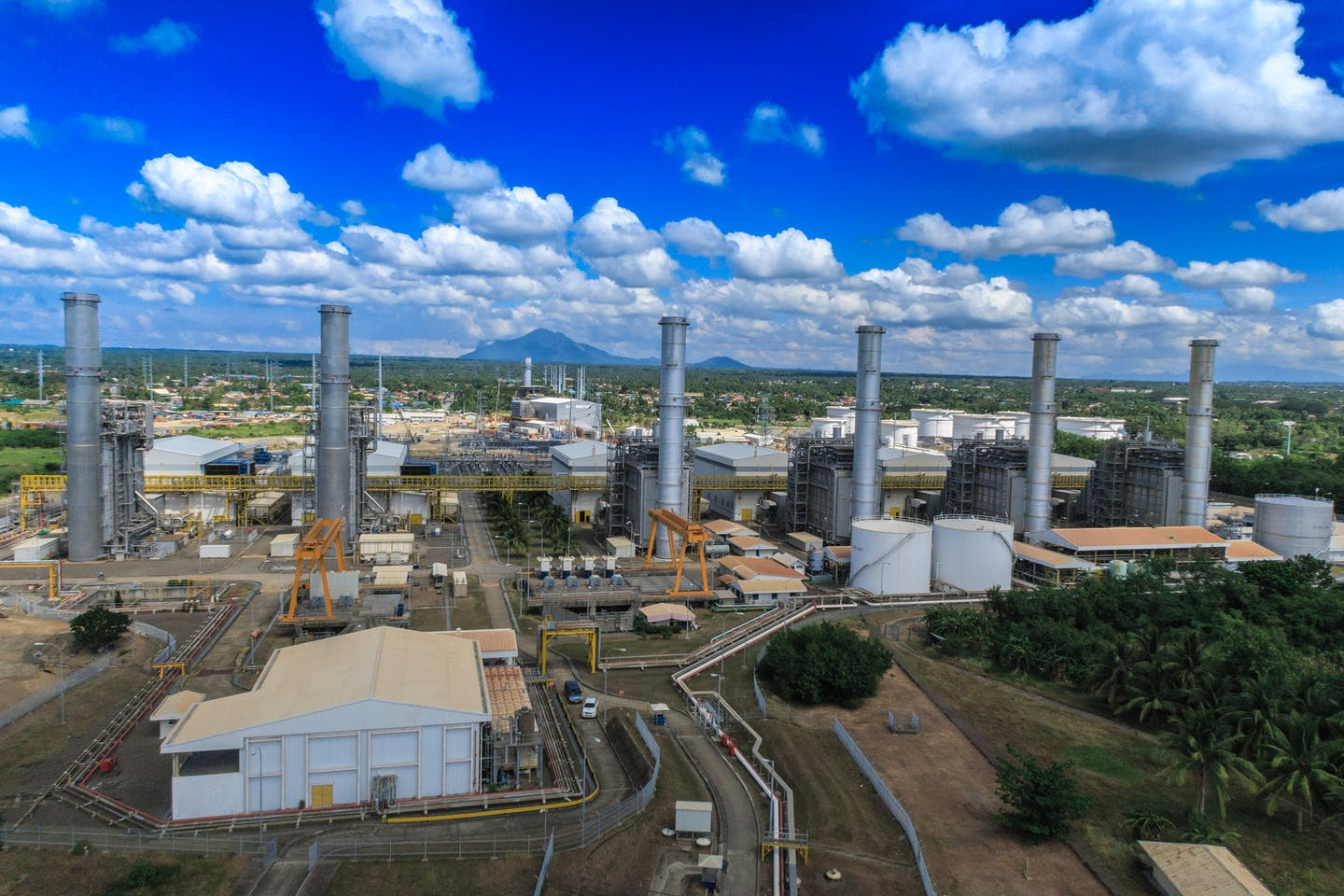 Santa Rita natural gas-fired power plant in Batangas, Philippines