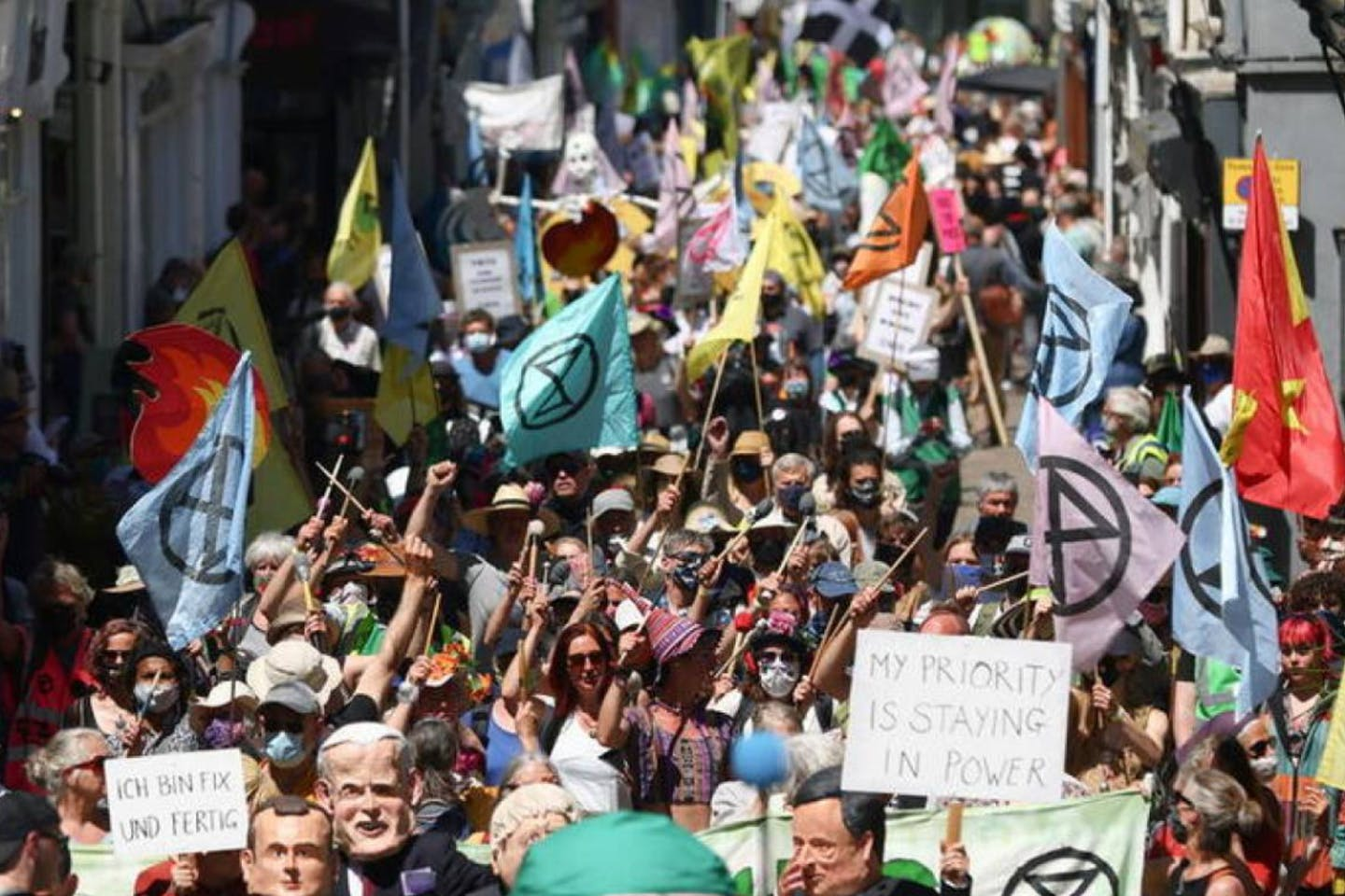 Fresh wave of climate protests to target gas ahead of COP26 summit