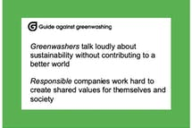 Guilty of greenwashing? This guide helps companies avoid making spurious sustainability claims