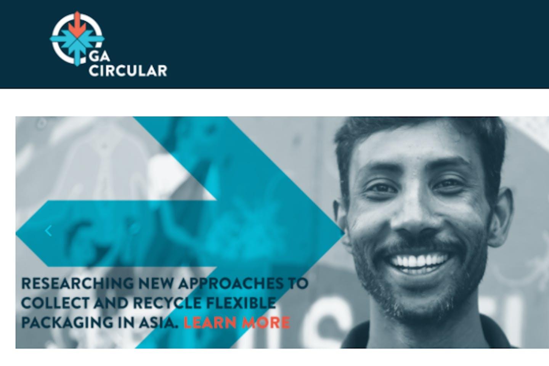 GA Circular's homepage