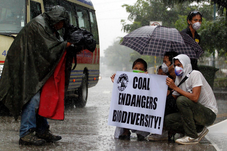 media covering coal philippines