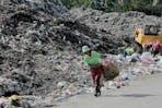 open dump site Dumaguete City, Philippines