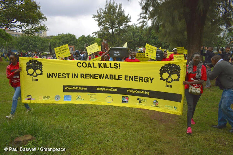 Lamu coal protest