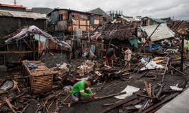 Typhoon-prone Philippines gets climate funding for early warning system
