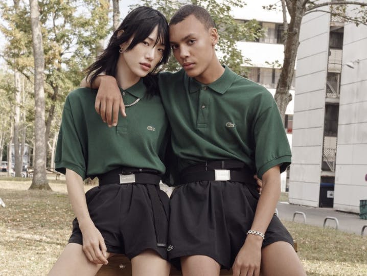 Genderless fashion by Lacoste
