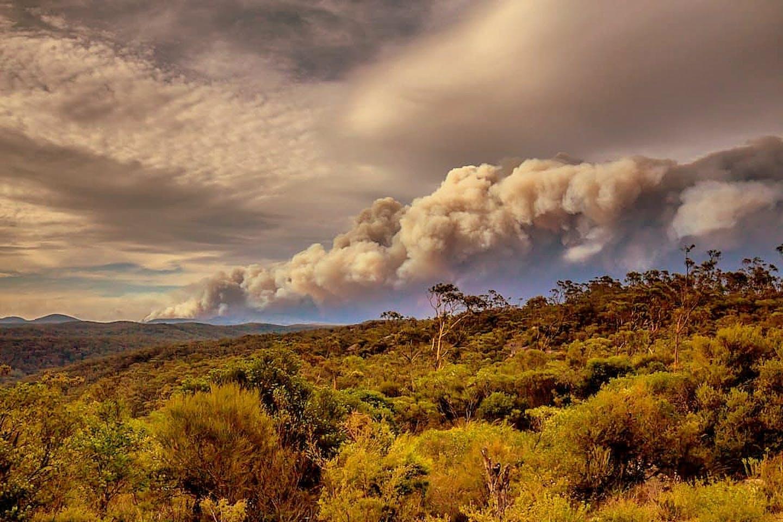 Gospers Mountain bushfires, Australia