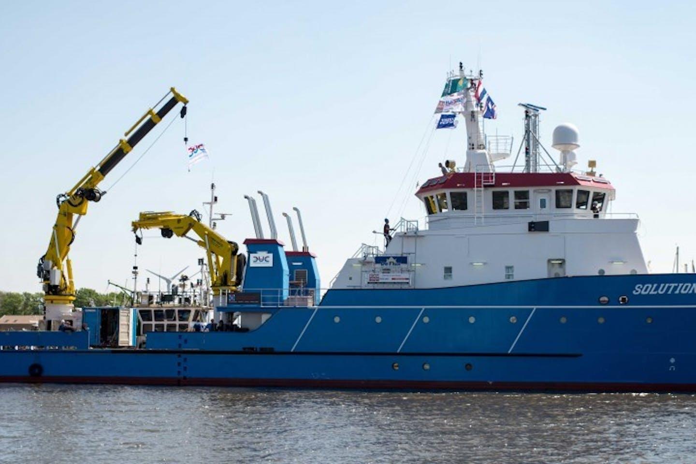 Offshore vessel Guardian Geomatics