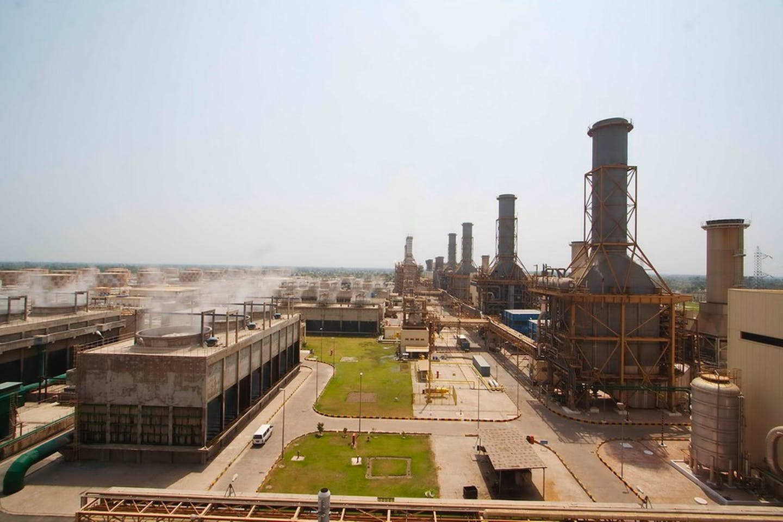 The Guddu coal power station in Sindh, Pakistan.
