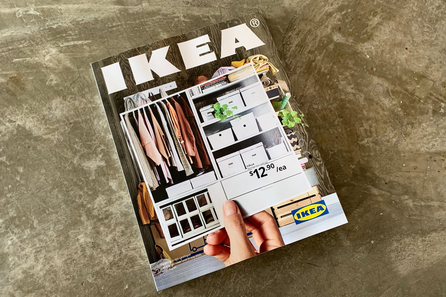 The IKEA catalogue. Customers are starting to complain about the unsolicited mass-mailing of the paper catalogues. Image: supplied by anonymous customer
