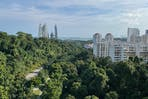 view of singapore from mount faber