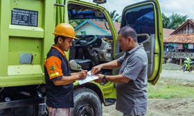 Keep on trucking: Building a solid supply chain for palm oil