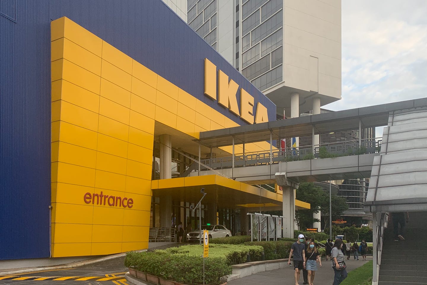 An IKEA store in Singapore.