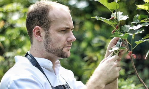 24 hours with... farm-to-table restaurant head chef, Oliver Truesdale Jutras