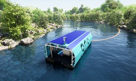 Singapore contraption aims to clean up Asia's plastic-polluted rivers