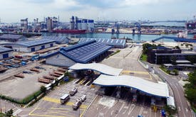 An industrial port in Singapore powered by solar—a model for other power-hungry industries?