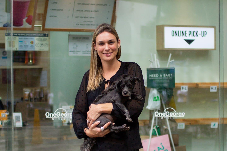Katherine Desbaillets, co-owner of SaladStop!