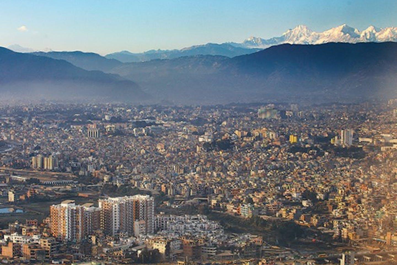 Kathmandu dense city