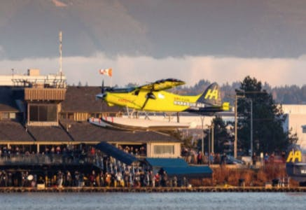 Harbour Air's ePlane. Image: Harbour Air Seaplanes