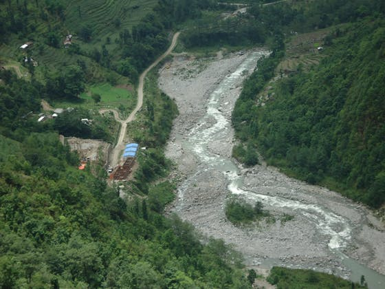 Melamchi Diversion Scheme camp in Nepal